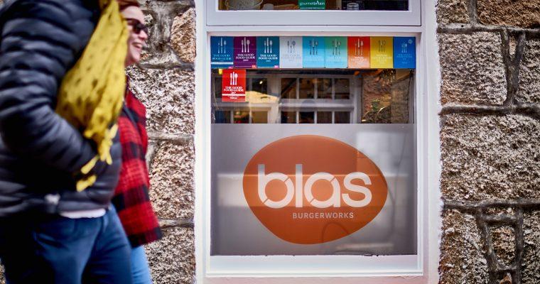 BLAS Burgerworks – für den besten Burger bis nach Cornwall