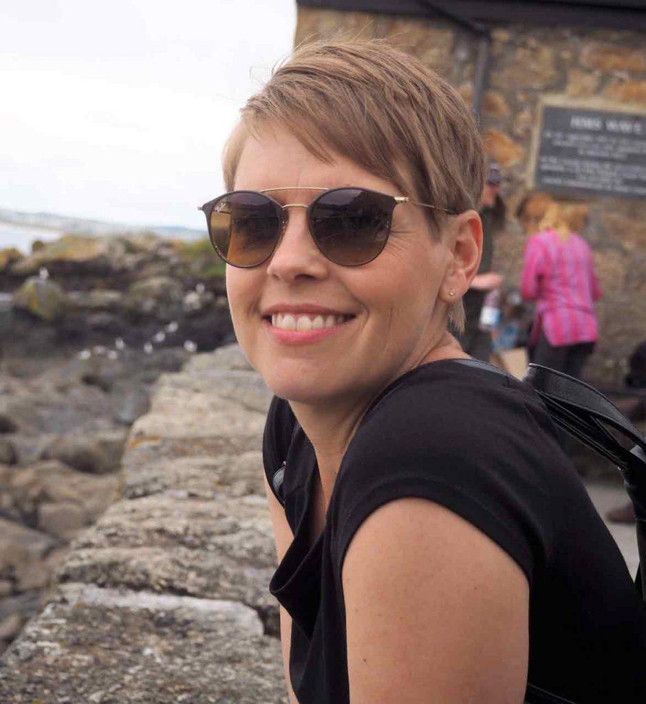 In St. Ives am Hafen