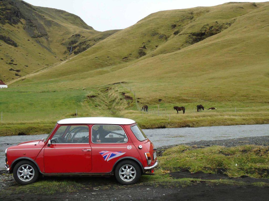 Mini Cooper in England
