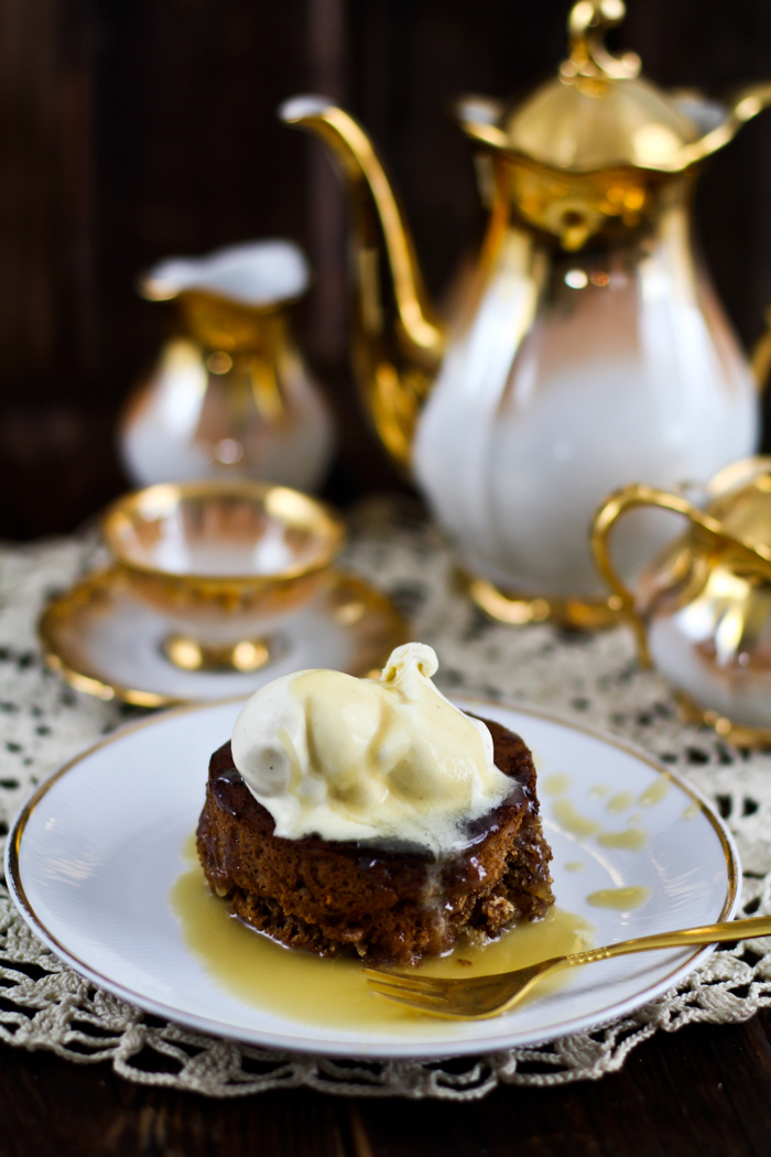 Stick Toffee Pudding aus England - Dessert
