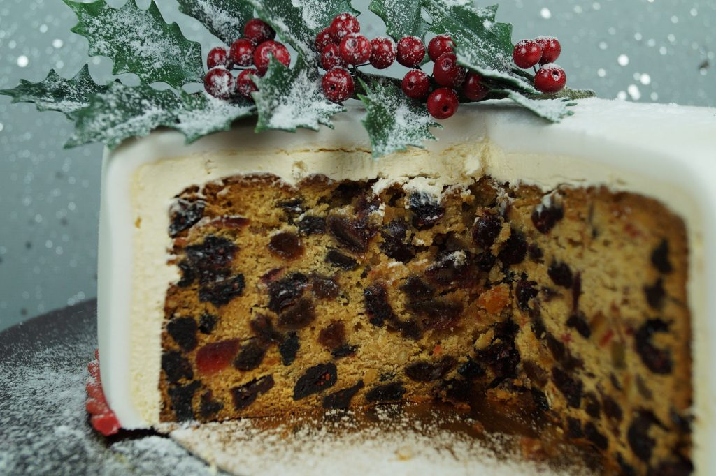 Weihnachtskuchen aus England mit Rezept