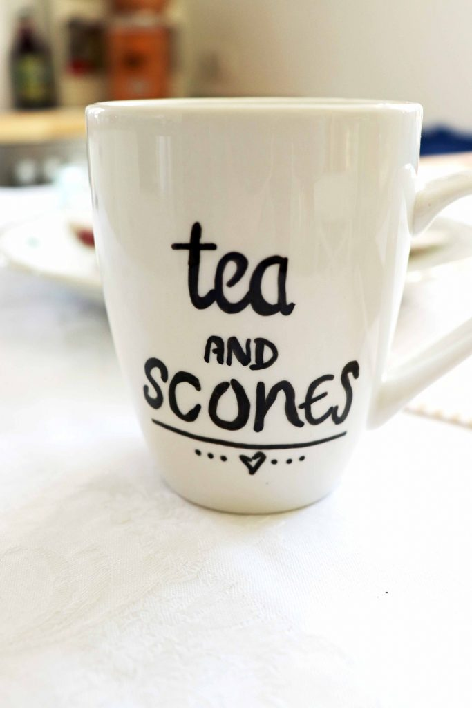 Tea and Scones Porzellan