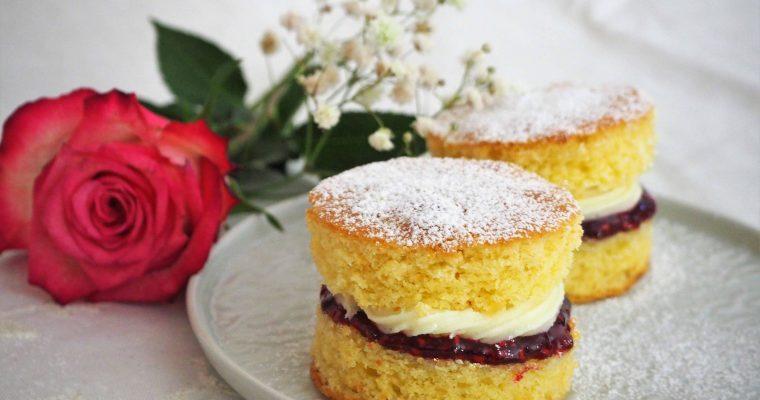 Königlich: Victoria Sponge Kuchen