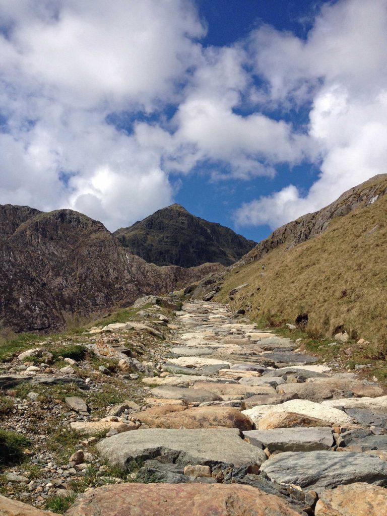 Wales Snowdon Gipfel