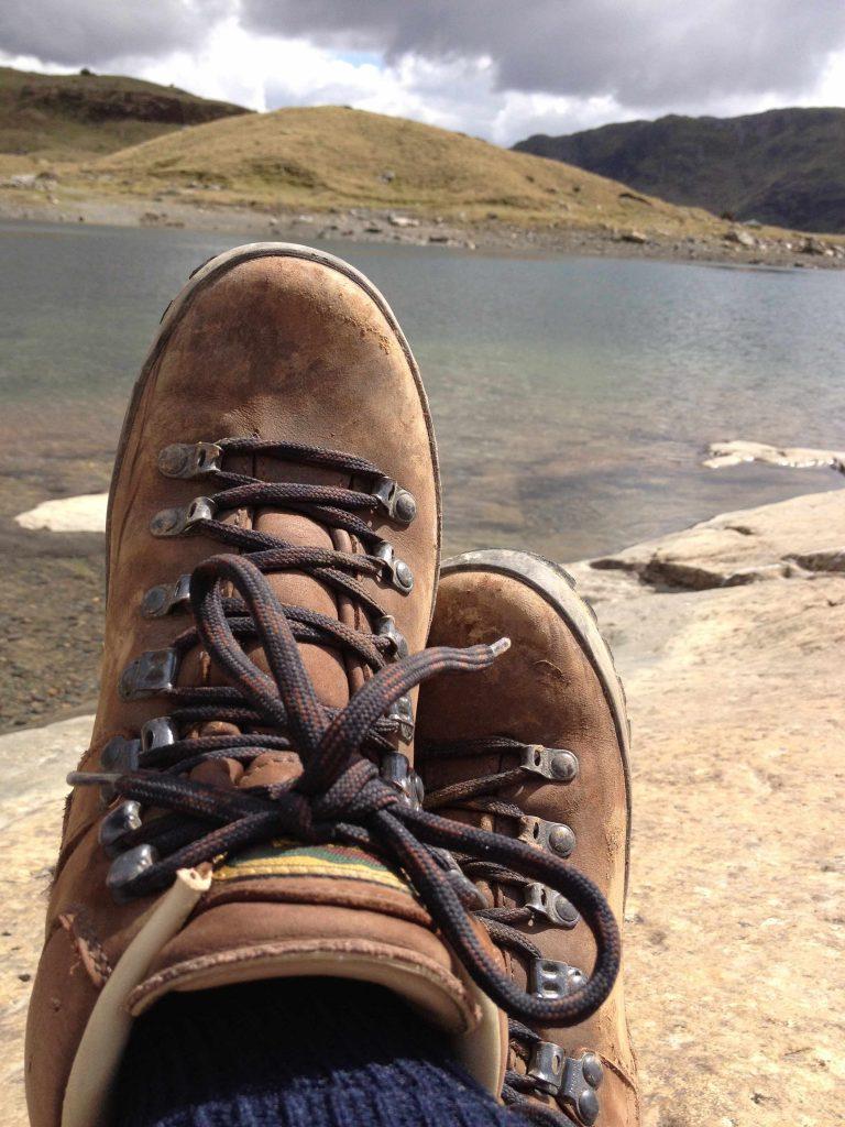 Wandern in Wales Snowdon