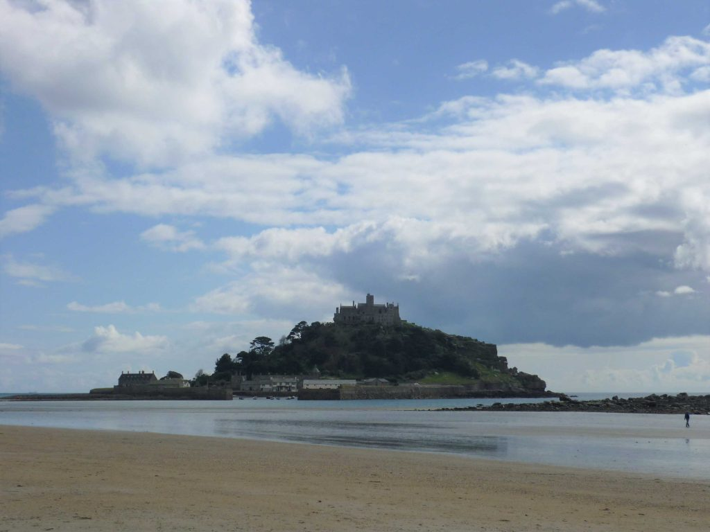 St Michels Mount in Cornwall