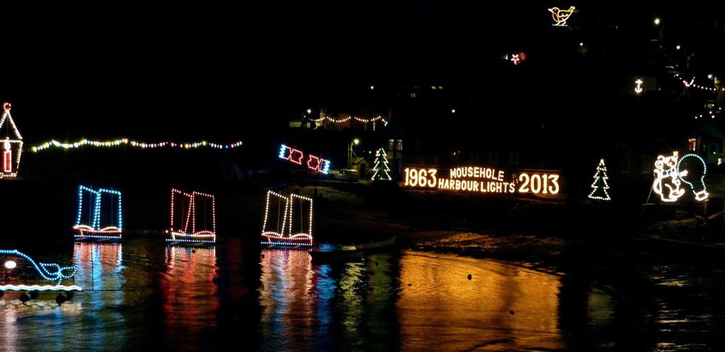 Mousehole Lights winter