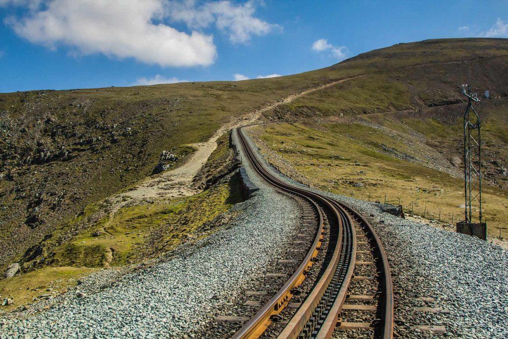 Wales Snowdon Bergbahn