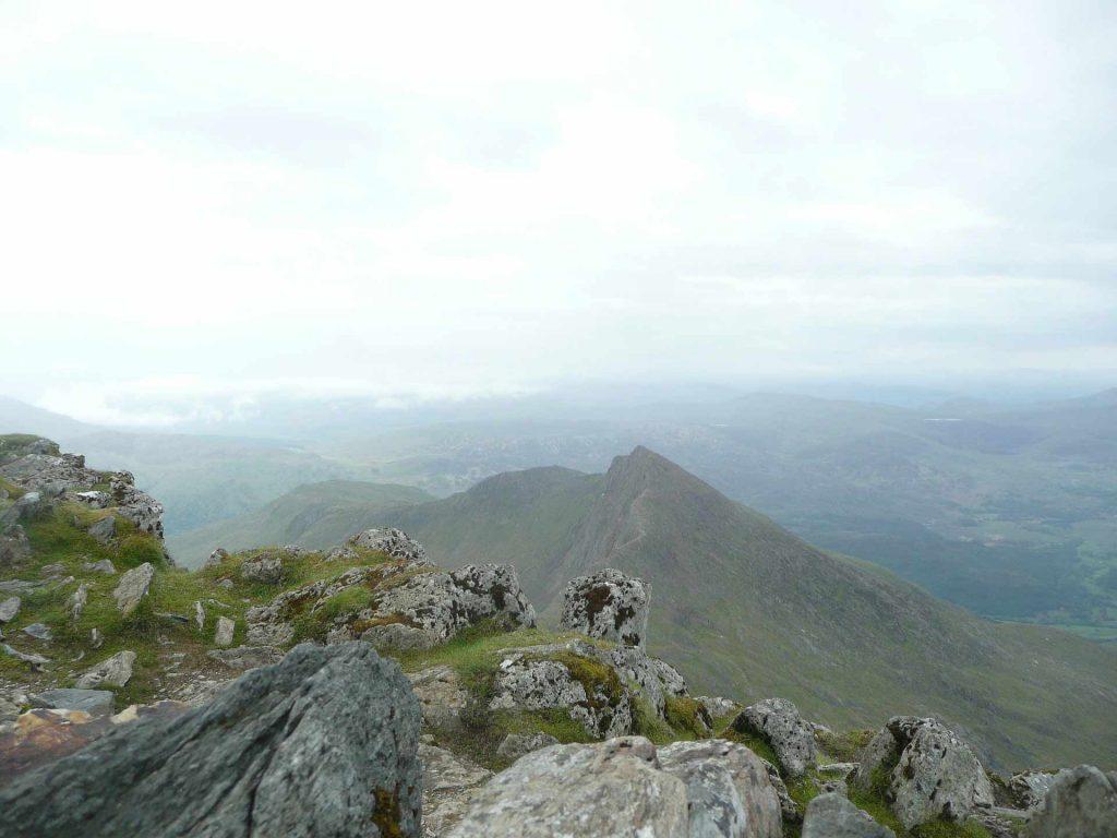 Wales Snowdon oben