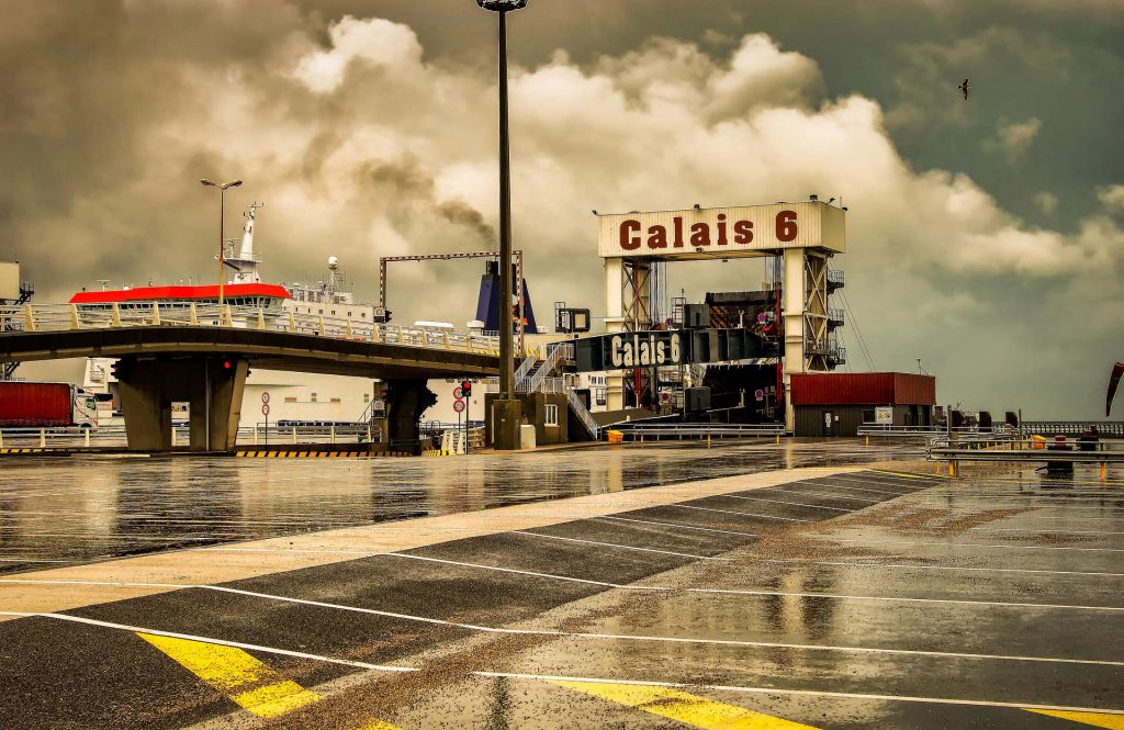 Calais mit dem Zug nach UK
