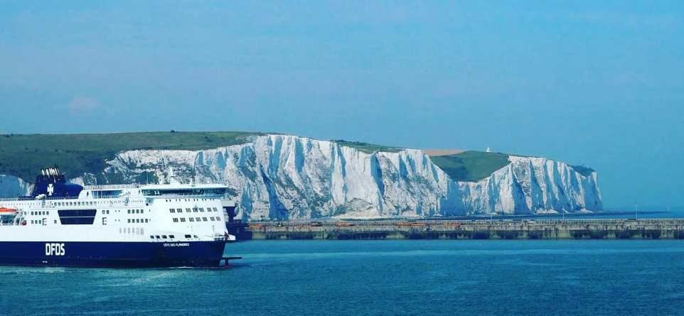 Fähre zwischen Dover und Calais