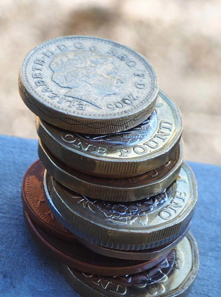 In UK bezahlen