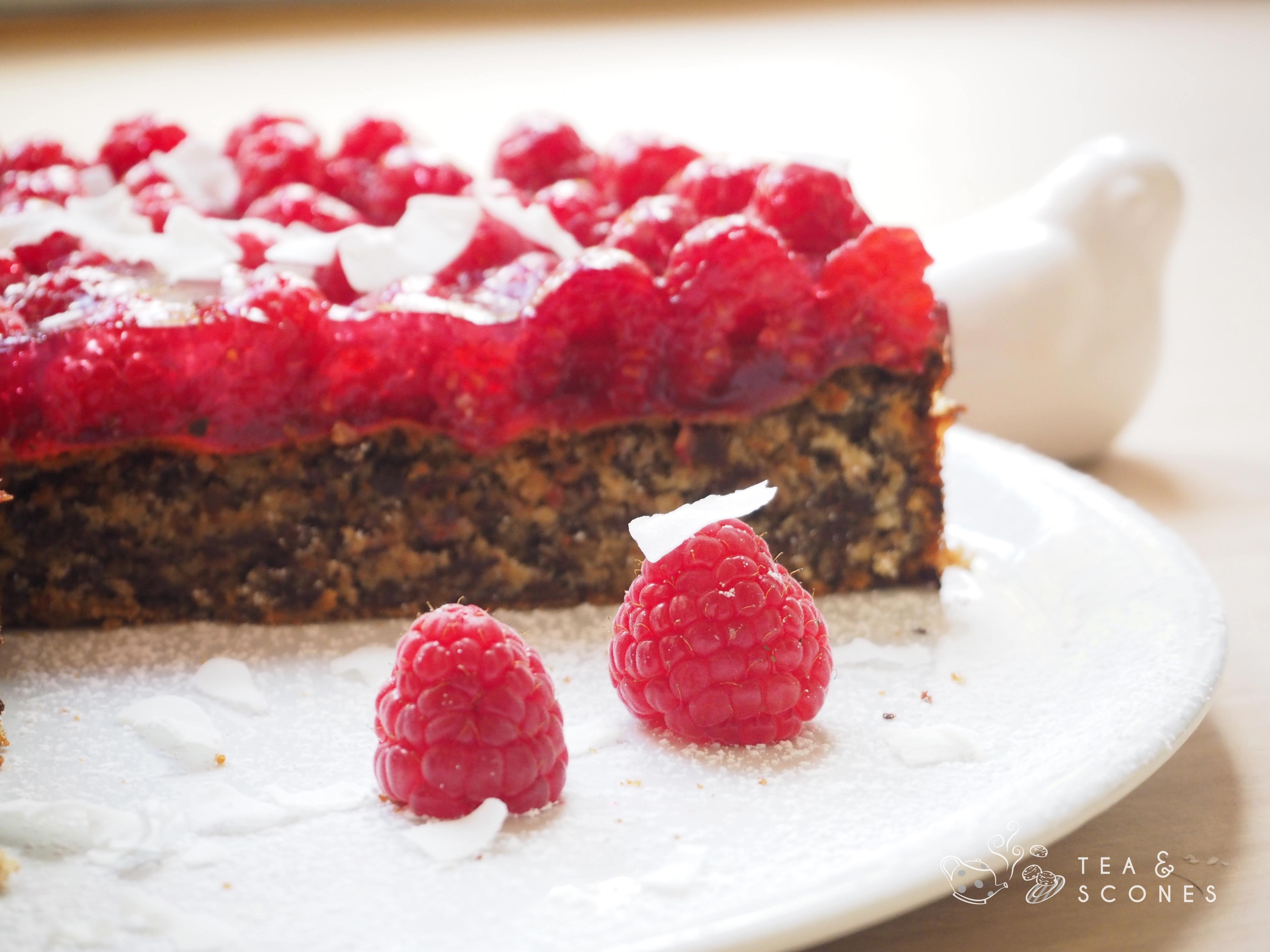 Glutenfreier Raspberry Chocolate Cake