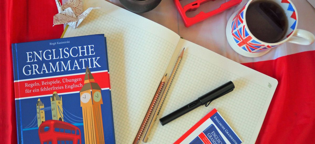 """Buchrezension: """"Englische Grammatik"""" von Birgit Kasimirski"""