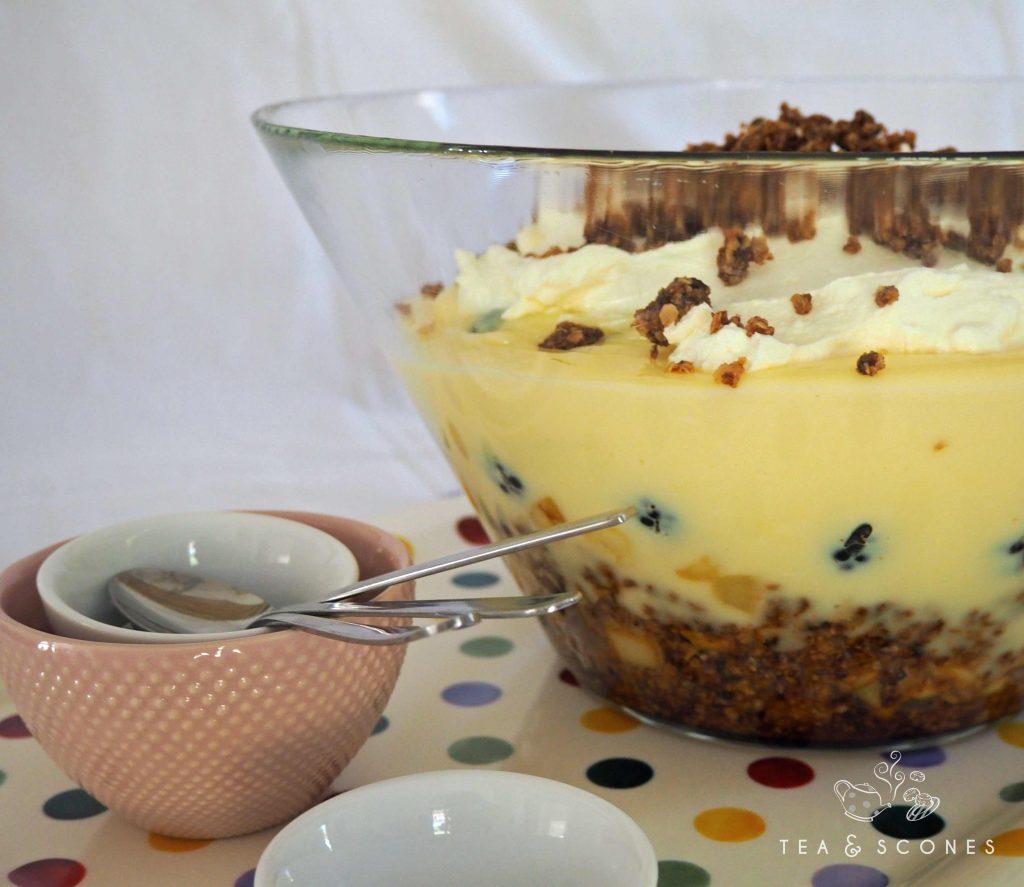 Trifle englisches Dessert