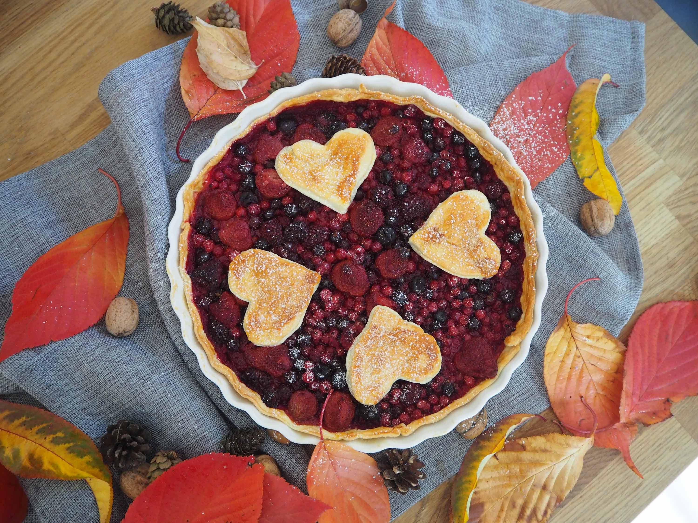 Rezept für einen herbstlichen Pie mit Beeren – Autumn Pie