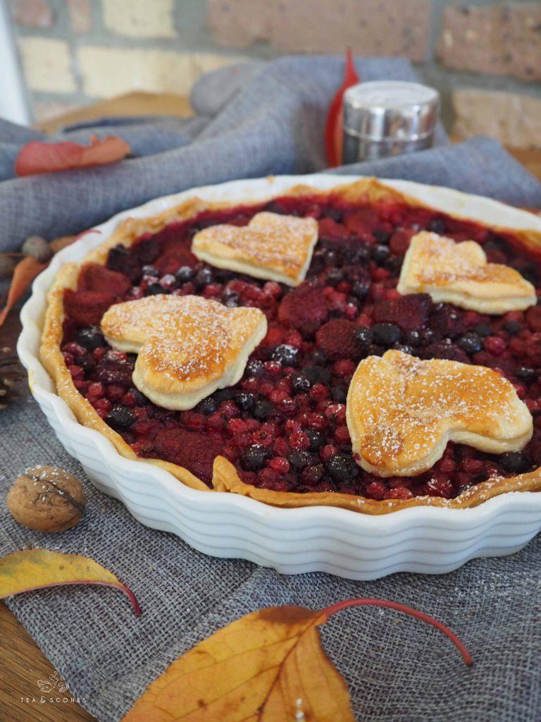 Beeren Pie Rezept