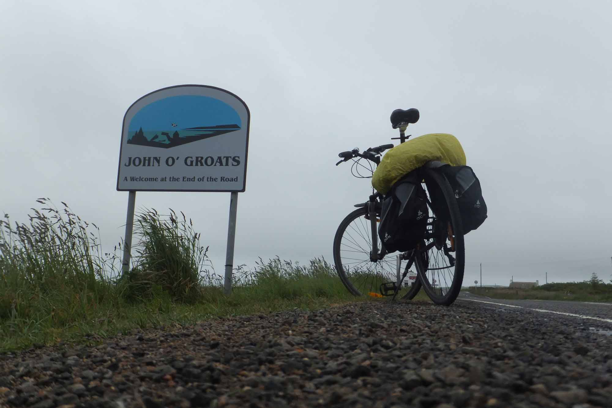 Mit dem Fahrrad von Lands End nach John O'Groats – Reisebericht (Teil 2)