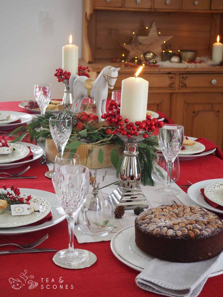 Britische Weihnachtsdekoration