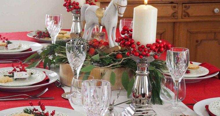 Britische Tischdekoration für Weihnachten – inspiriert von THE BRITISH SHOP