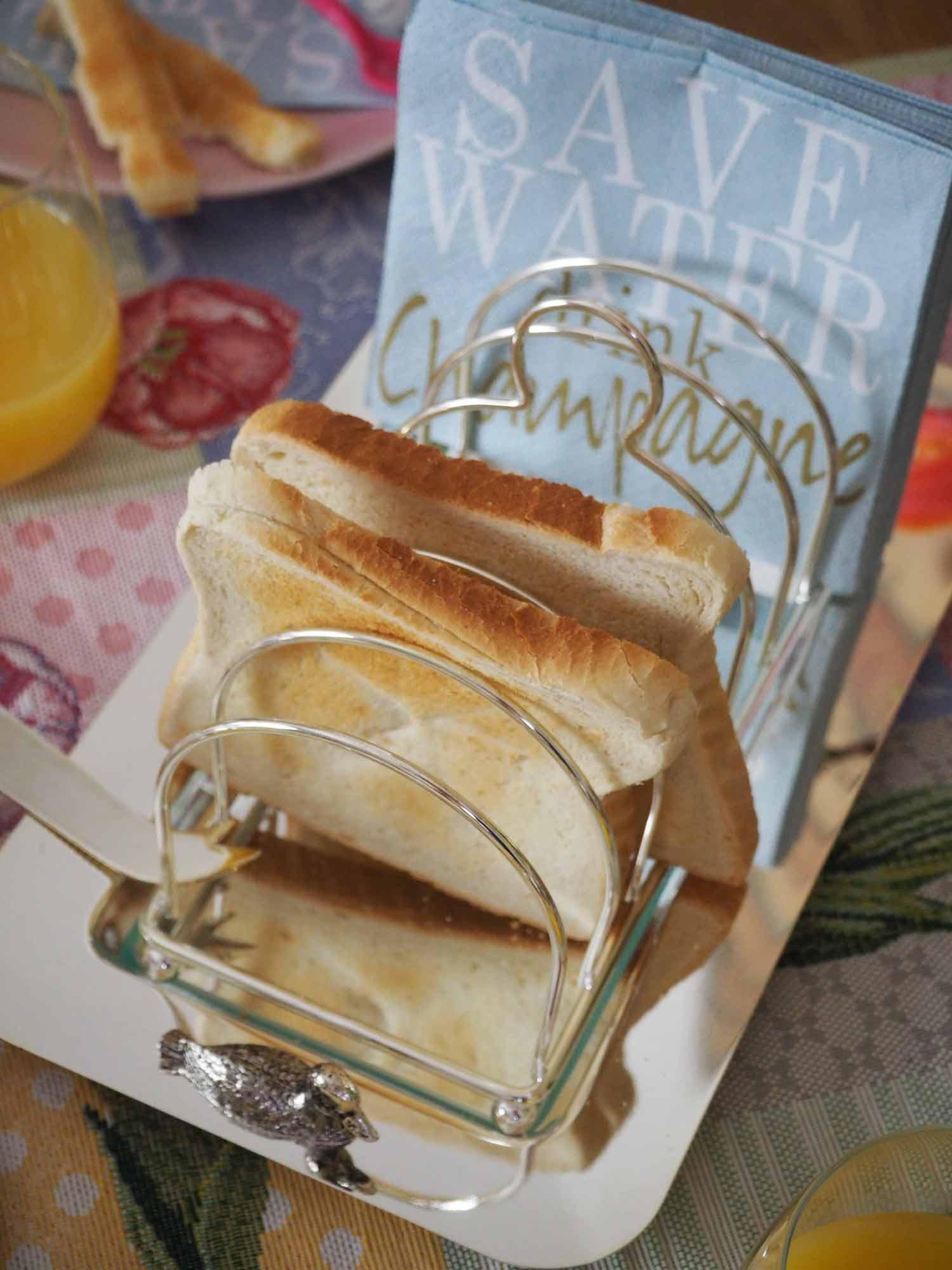 Käse und Toastplatte von THE BRITISH SHOP