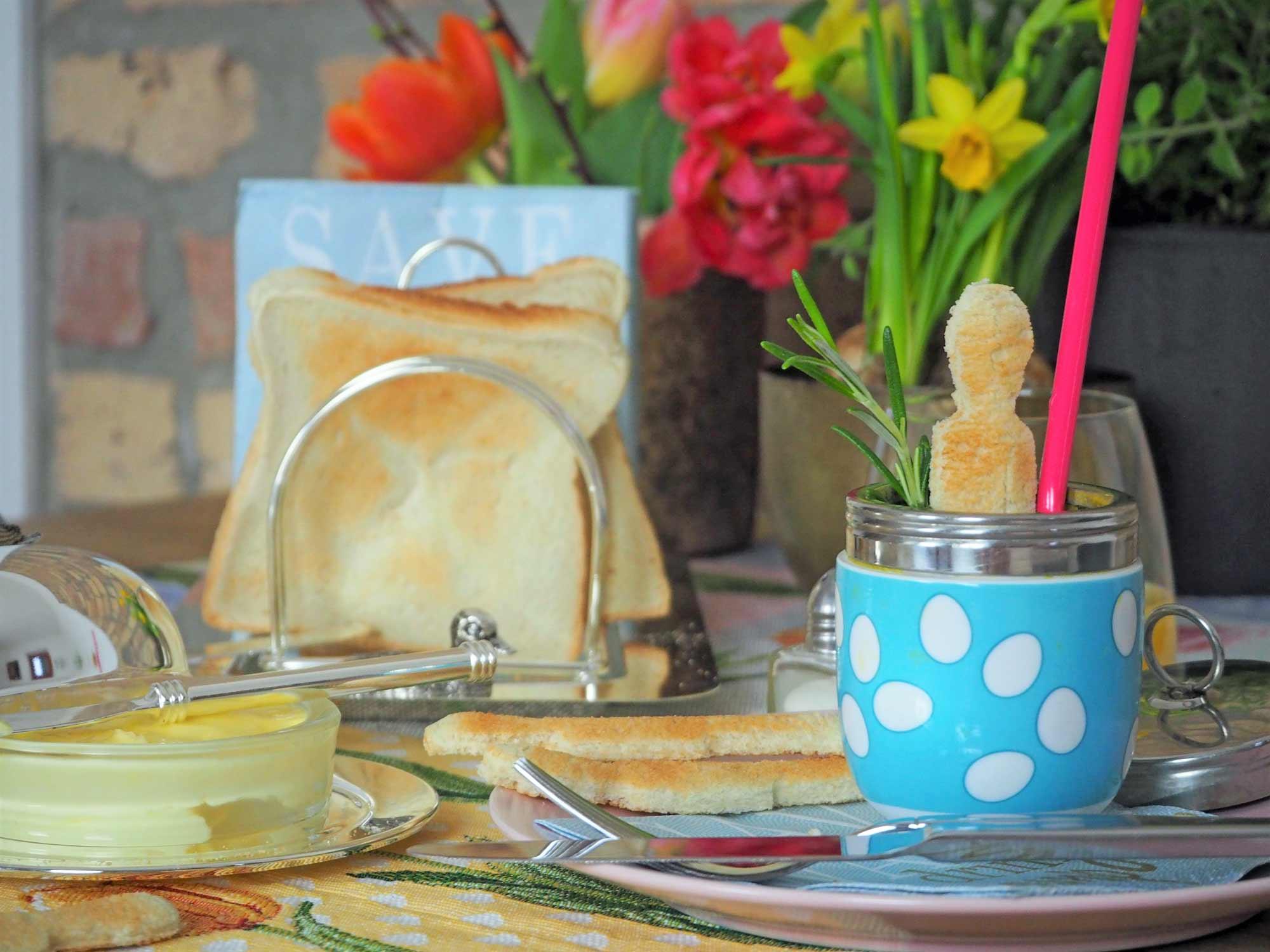 """Coddled Egg und Soldiers – das """"Gute Laune""""- Frühstück aus Großbritannien"""
