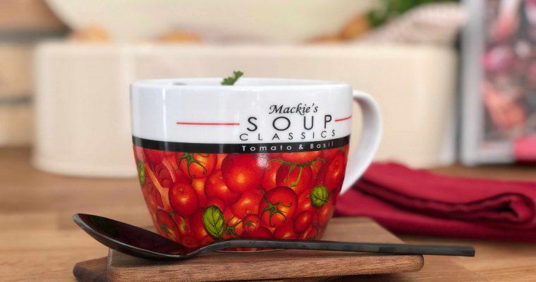 Tomatensuppe mit Cheddar-Scones – inspiriert von THE BRITISH SHOP