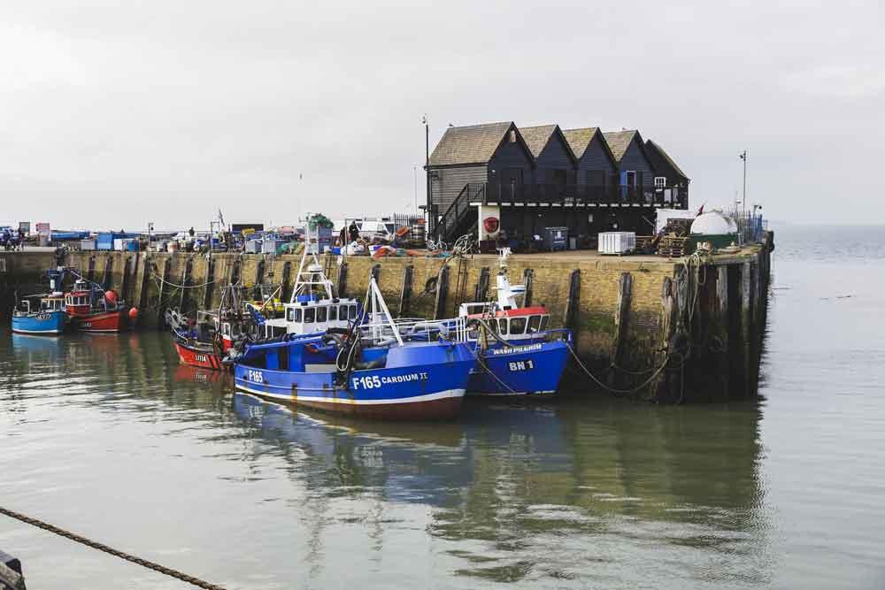 Kent: Küstenstadt Whistable