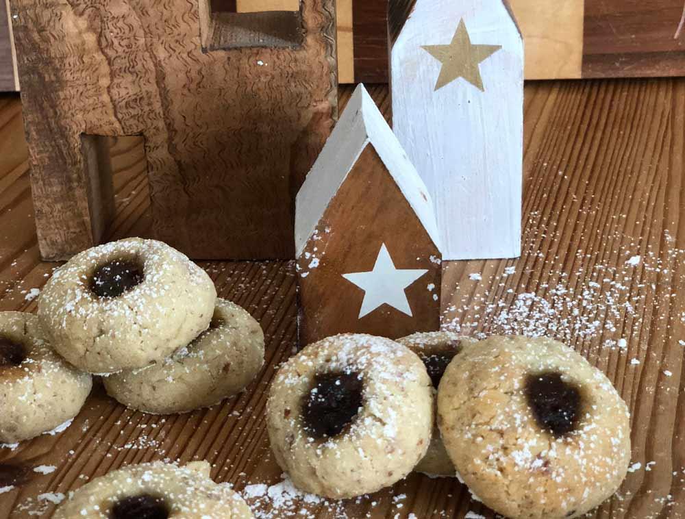Weihnachtsplätzchen mit Mincemeat: Rezept für Engelsaugen