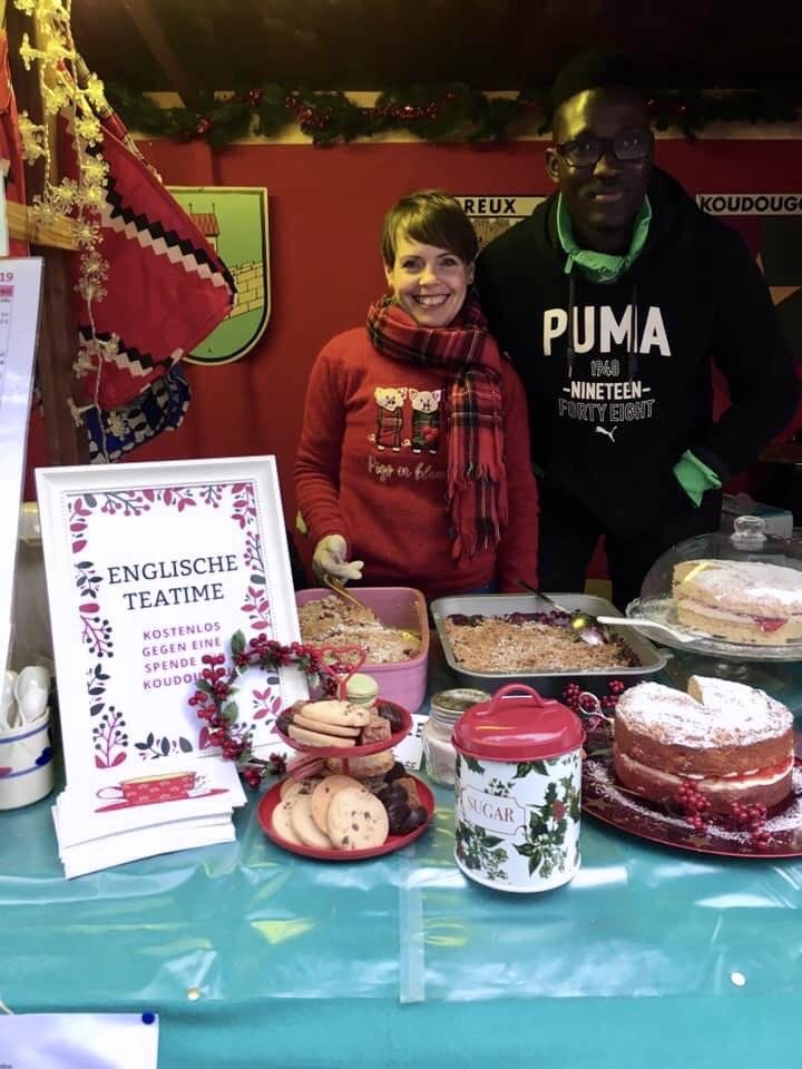 Christmas Crumble mit Glühwein