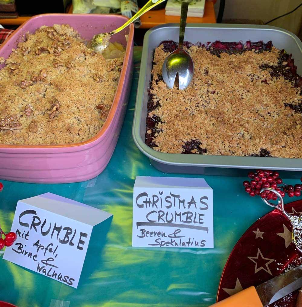 Weihnachtlicher Crumble
