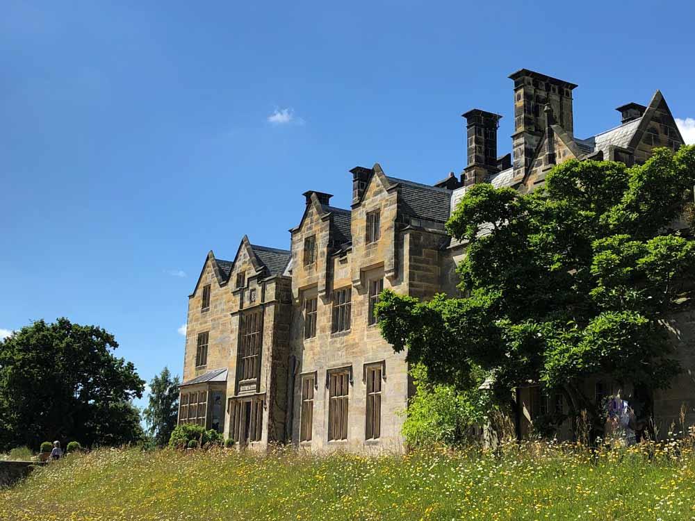 Gartenanlage Scotney-Castle in Kent