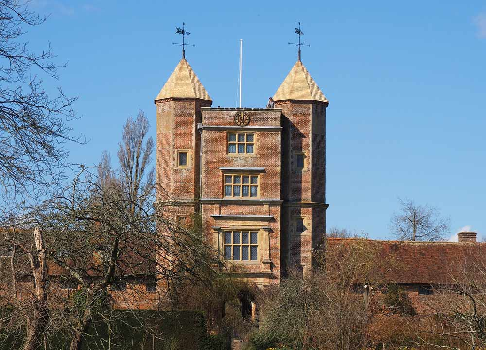 Gärten in Kent: Sissinghurst Castle and Gardens