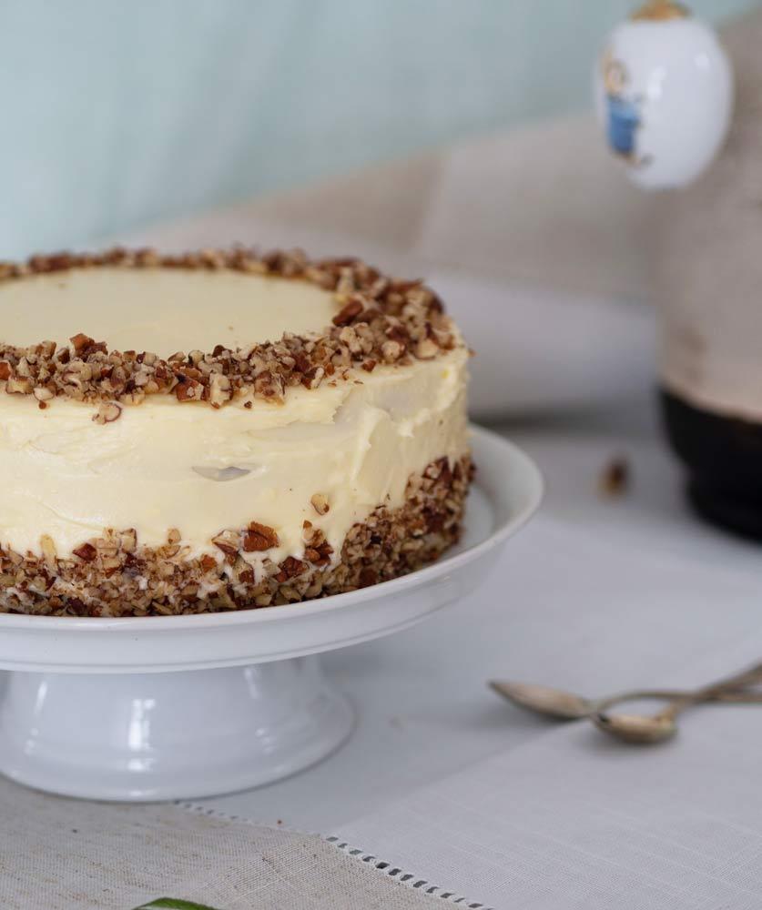 Österlicher Carrot Cake – inspiriert von THE BRITISH SHOP
