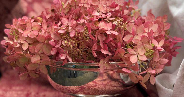 Very englisch: Versilberte Blumenschale von Arthur Price
